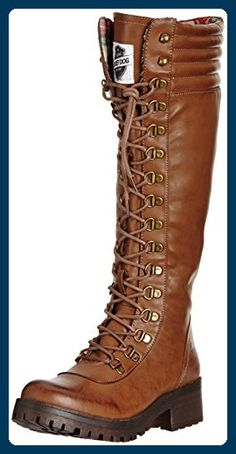 Rocket Dog Landers, Damen Stiefel, Braun (Brown) , 36 EU - Stiefel für frauen (*Partner-Link)