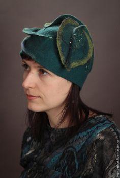 """Шляпы ручной работы. Ярмарка Мастеров - ручная работа Шляпка """"Ожидание весны"""". Handmade."""