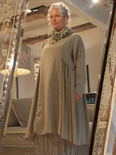 Privatsachen Wenuspigel Flat Silk Dress With Side Gathers