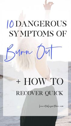 Feeling extra stressed lately? Learn what burnout is, and how to recover from burnout quick! Get 10 Fail-Proof Ways to Eliminate Burnout now. Job Burnout, Burnout Recovery, Stress Symptoms, Chronic Stress, Coping With Stress, Work Stress, Feeling Burnt Out, How Are You Feeling, Health And Wellbeing