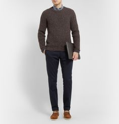 Dolce & Gabbana - Chunky Cashmere and Wool-Blend Sweater|MR PORTER