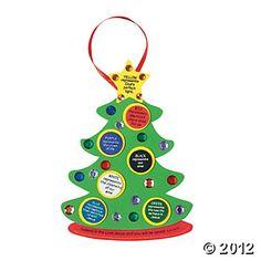 """Colors Of Faith"" Christmas Tree Craft Kit"