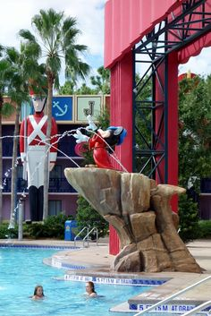 Review of Disney's All-Star Movies Resort.  Shown: The Fantasia Pool ... yourfirstvisit.net