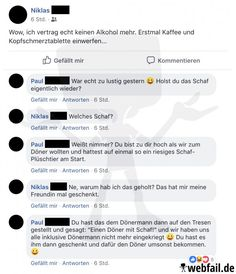 Ein tierisch netter Abend - Facebook Win des Tages 07.04.2019 | Webfail - Fail Bilder und Fail Videos Facebook Humor, Niklas, Funny Things, Fails, Random Stuff, Internet, Thoughts, Videos, Ebay