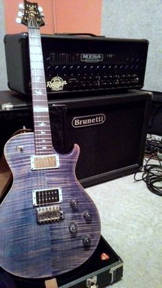 """Tre Cool.*""""This is my 2012 PRS Tremonti signature in faded blue jean with 1st series fretboard (with Mark Tremonti inlay at 12th fret)"""" -Francesco BenedettiGot a guitar, bass, pedal or amp you want to share? You can send it in to GuitarPorn here!*I'm so sorry"""