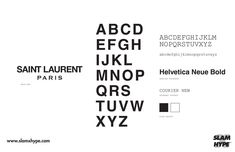 Saved by Catta Design (catta). Discover more of the best Ysl, Typography, and Font inspiration on Designspiration Fashion Typography, Typography Fonts, Fashion Branding, Typography Design, Lettering, Fashion Fonts, Helvetica Bold, Logo Samples, Brand Fonts
