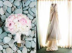 Pale pink and white peonies | Shade Hotel Manhattan Beach | Photographer: Josh Elliott Studios | Planner: Sugar Branch Special Events and Design