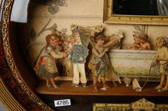 19th Century French Children at Play Cut Paper Diorama   image 5
