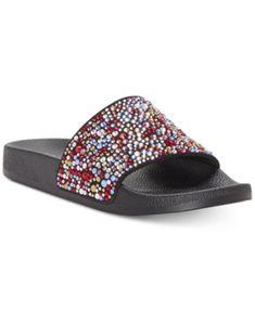 a03a37a85fed Women s Kyleigh Cross Band Slide Sandals - Universal Thread ...
