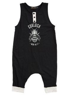 Chic-Chic Body B/éb/é Fille Combinaison Grenouill/ère en Bretelles Jumpsuits Salopette