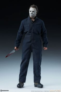 Michael Myers Deluxe Sixth Scale Figure by Sideshow Collectibles | Sideshow Collectibles Sideshow Toys, Sideshow Collectibles, Michael Myers, Halloween, Fictional Characters, Collection, Scale, Horror, Pants