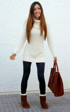 outfit con jersey hym, l