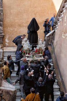 Procession de Pâques de Tarente Images De Stock Libres De Droits