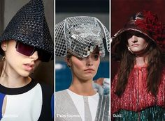 Spring/ Summer 2017 Headwear Trends: Creative, Unique Hats