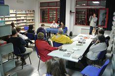 #lettidinotte in @BMTCampobasso ad aprire la serata raccontando un libro, l'assessore alla Cultura Emma De Capoa