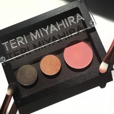 Nearly pulling my hair out with Planning 2 large launches for #TeriMiyahiraBeauty one of which is our full line of pan-form makeup from the Capsule Collection we debuted in last month's beauty box (pictured here)  New boxes should be in your mailboxes any second now! (Tag me in your photos please!)  Thanks to my girl @greenbeautylove for this photo!  If u missed the last box Waitlist registration for the next May box (shipping end of this month) is now open! Click link in bio if u haven't…