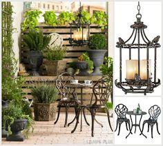 Charming city dweller garden escape - #smallspacesolutions #outdoorliving