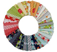 Red Pepper Quilts: Sunday Stash #176 - Happy Go Lucky by Bonnie & Camille