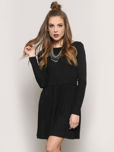 Autumn Mini Dress - Black - Gypsy Warrior