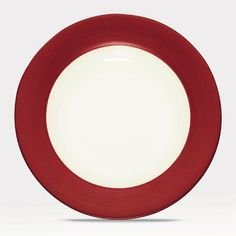 Noritake Colorwave Raspberry Rim Salad Plate by Noritake CO., INC.. Save 32 Off!. $13.00. Dishwasher Safe. Noritake Colorwave Raspberry Rim Salad Plate. Dimensions: 1-inch by 8-1/4-inch by 8-1/4-inch. Casual and Comfortable Fashionable Earth Tones. Material: stoneware. Colorwave is Noritake's most popular patterns for casual dining. Available in multiple fashion forward décor friendly colors.