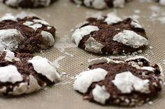 Chocolate Marshmallow Crinkle Cookies | POPSUGAR Food