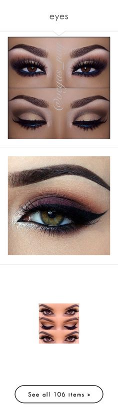 """eyes"" by dorastyles-clxiv ❤ liked on Polyvore featuring makeup, eyes, beauty products, eye makeup, eyeshadow, beauty, maquiagem, palette eyeshadow, sparkle eye shadow and sparkle eyeshadow"