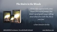 Even adults need fairy tales. The Stairs in the Woods takes you through a journey into a magical fantasy world while also exploring a unique coming of age story.