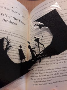 The Tale of the three brothers bookmark