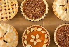 a buffet of pie  @Neal Fine Cooking