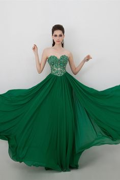 2014 Sweetheart Embellished Tulle Bodice With Beaded Applique Pick Up Flowing Chiffon Skirt