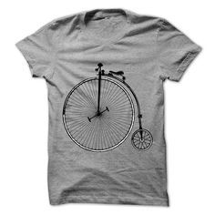 Vintage old fashioned bicycle clip art T-Shirts, Hoodies, Sweaters