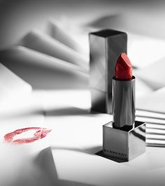 Burberry Kisses in Union Red Lip Cover - Send a letter sealed with your kiss and.