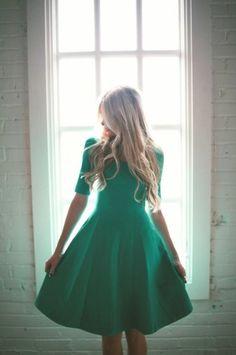 Green Dress #spring #fashion