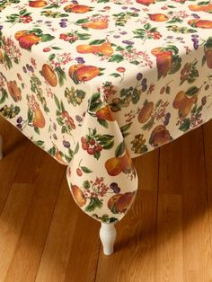 Oilcloth Tablecloths From Vermont Country Store, Various Shapes U0026 Sizes $34  To $64
