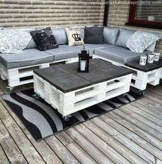 50 Trendy pallet patio furniture sofa design #design #furniture #patio