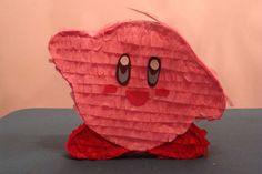 DIY Kirby pinata