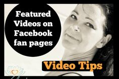 Video Tip | Featured Video Greeting on Facebook Fan Pages Facebook Fan Page, Invitations, Invite, Repurposed, Marketing, Videos, Tips, Youtube, Footprints
