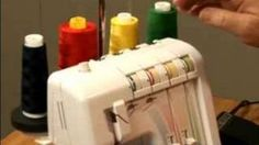 How to Sew: Using a Serger : Introduction to the Serger Sewing Machine, via YouTube.
