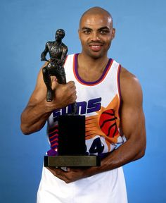 With a new arena and new uniforms came a new personality in Sir Charles Barkley, who led the Phoenix Suns to a franchise record 62 wins, earning himself the NBA's MVP Award.