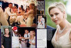 Princess Charlene brother (Gareth Wittstock) marries in Monaco