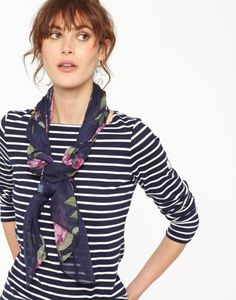 Bring out your wild side with the Joules collection of ladies' animal print clothing. Preppy Mode, Preppy Style, My Style, Toms, Joules Clothing, Sailor Fashion, Floral Scarf, Well Dressed, Womens Scarves