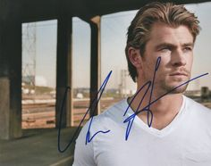 Chris Hemsworth Autographed Signed Sexy 8x10 Photo UACC RD