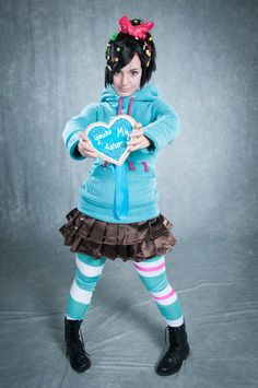 Vanellope Von Schweetz -- You're My Hero by *Lisa-Lou-Who on deviantART