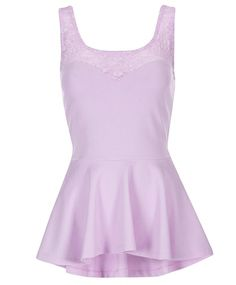 Gina Tricot -Peggie peplum top Gina Tricot, Cute Tops, Peplum, Essentials, Pastel, Blouses, Spring, Women, Accessories