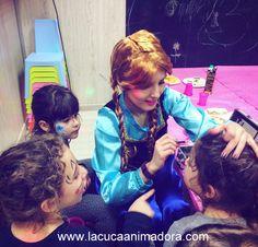 Pintacaras Frozen y de otras temáticas para celebraciones infantiles. #pintacaras #frozen #annafrozen #maquillajeinfantil #fiestasinfantiles #fiestafrozen