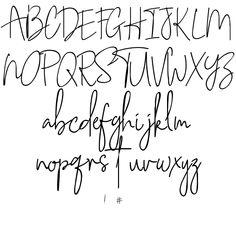 Lettering Styles Alphabet, Hand Lettering 101, Abc Font, Doodle Lettering, Creative Lettering, Lettering Design, Doodle Quotes, Printable Alphabet Letters, Journal Fonts
