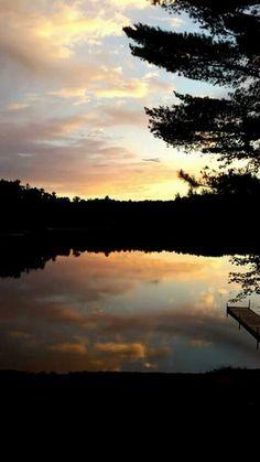 LAKE Patricia a no wake lake in Wisconsin