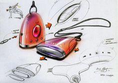 鮑里斯王工業設計草圖的產品在Coroflot.com