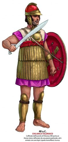 Warlord of the Ptolemaic Army Ancient Rome, Ancient Greece, Greek History, Greek Culture, Carthage, Medieval Armor, Alexander The Great, Military History, Army