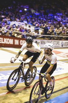 Bradley Wiggins & Mark Cavendish Six Days Gent 2016
